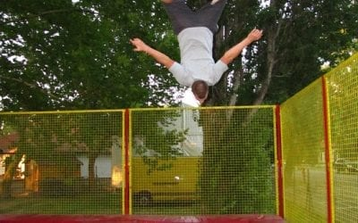 Trampoline Parks are sending many to the ER
