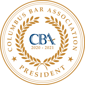 2020-2021 President: Columbus Bar Association