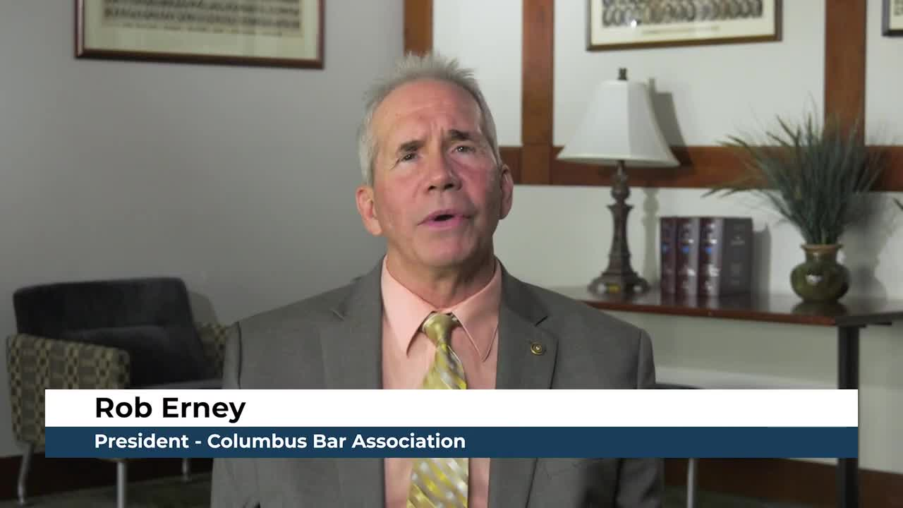 Columbus Bar Association President's Report   June